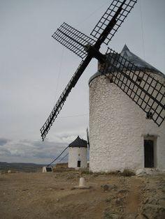 Windmills in Castilla la Mancha