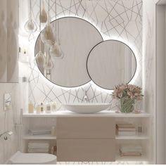 Bad Inspiration, Bathroom Inspiration, Home Decor Inspiration, Decor Ideas, Bathroom Design Luxury, Modern Bathroom Design, Small Elegant Bathroom, Home Room Design, Home Interior Design