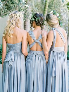Top 4 Bridesmaid Dresses Trends Your Maids Will Love in Fall/Winter | http://www.tulleandchantilly.com/blog/top-4-bridesmaid-dresses-trends-your-maids-will-love-in-fallwinter/