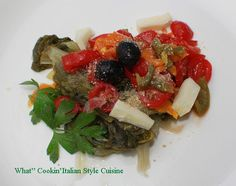 What's Cookin' Italian Style Cuisine: Italian Escarole Antipasto Recipe