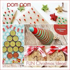 Fun DIY Christmas Ideas. LOVE THEM!