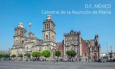 Mexico D.F. otro destino de Hi International Studies para que estudies en el exterior.