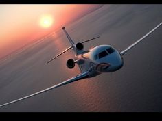 Jet-Sunset HD Wallpaper - Airliners Wallpapers