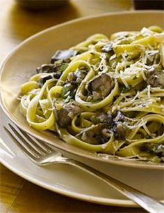 Fettuccine with Creamy Portobello Sauce | March 29, 2013 | Recipes — The Official Website of Teresa Giudice