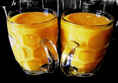 Aam Twist (Mango Milkshake) Name fancied, but it's the good-old mango shake that we all can make at home. The perfect breakfast for a summer morning!