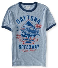 Show off your inner speed demon in this throwback t-shirt! The front is decked out with awesome retro graphics and is sure to turn some heads on race day.