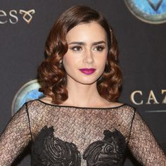Get Excited For Fall With Lily Collins
