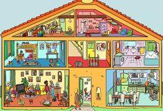 8 imagens ilustradas para trabalhar percepção visual!! | Reab.me