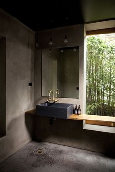 Raw bathroom