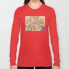 Queen of Hearts Long Sleeve T-shirt