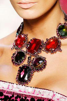 Matix FashionTrend: • Christian Dior fall winter 2007 2008 Accessories and Bijoux
