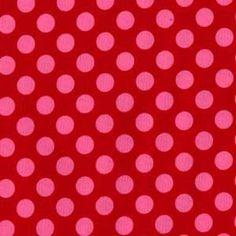 Michael Miller Ta Dot in Berry