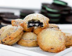 Cómo hacer galletas Oreo fritas