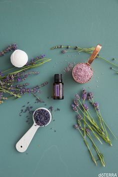 Add 3-5 drops of Lavender to your favorite bath bombs to create a soothing spa-like bath!