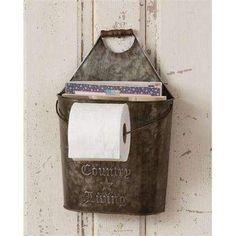 Primitive Toilet Paper Holder Bathroom By CJNPRIMITIVES On Etsy
