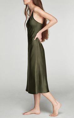Sofia Silk Slip Dress by Sleeper | Moda Operandi