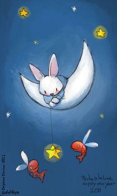 Bunny Rabbit Moon
