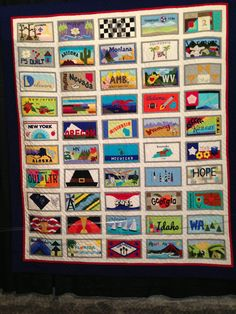 American Made 50 states quilt- 2014