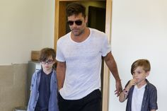 "Ricky Martin sobre cuando sus mellizos supieron que era famoso: ""¡Papi, eres Ricky Martin!"""
