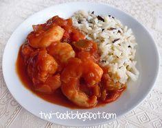 The Way I Cook: Shrimp À la Basquaise