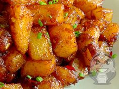 Spiced Potatoes in Tamarind Sauce