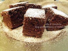 Torta al cacao con farina integrale senza zucchero burro latte|Latte di Mandorla Blog Copyright © All Rights Reserved