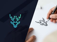 Fiverr freelancer will provide Logo Design services and make minimal logo design including # of Initial Concepts Included within 2 days Logo Mexicano, Minimal Logo Design, Logo Desing, Logo Process, Photography Logo Design, Shadow Art, Animal Logo, Creative Logo, Corporate Design