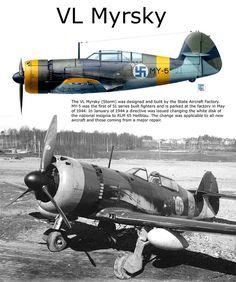 "VL Myrsky - ""MY-5"" Aviazione Finnica, 1944"