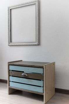Umbre bedside of a series of Shabby crate in style от progenius#progenius #cratedesign #pgdesign #furniture #crate #homedecor #shabbychic #shopnow