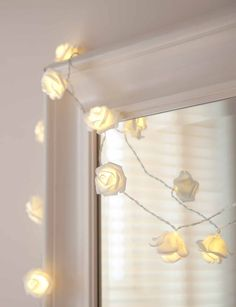 20 ivory and pink rose flower fairy string warm white led lights bedroom fairy light ideas mightylinksfo Choice Image