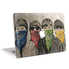 Buy directly from the world's most awesome indie brands. Or open a free online store. Macbook Skin, Indie Brands, The Beatles, Decals, Drawings, Fit, Cover, Check