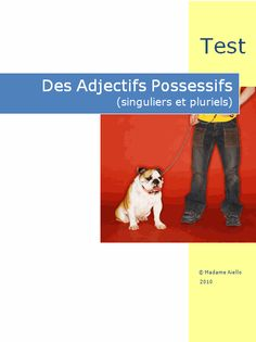 French Quiz Possessive Adjectives (les adjectifs possessifs) product from French-Teacher-Resources on TeachersNotebook.com