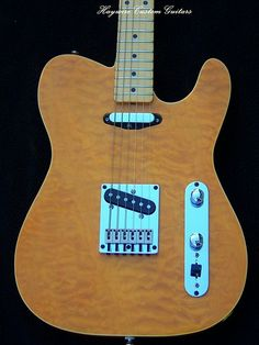 New Haywire Custom Lamar Lollar SRV Tele1 | www.haywirecusto… | Flickr Stratocaster Guitar, Fender Guitars, Guitar Neck, Guitar Body, Instrument Sounds, Guitar Pickups, Guitars For Sale, Smoke And Mirrors, Guitar Tips