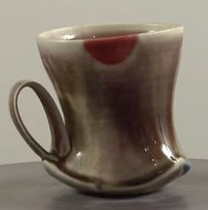 Pottery Video of the Week: Making Interesting Cup Shapes by Combining Bisque Molded and Wheel-Thrown Parts