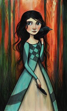 Kelly Vivanco - Crow Feather