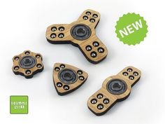 Bamboo Fidget Spinner por D3sign4all en Etsy