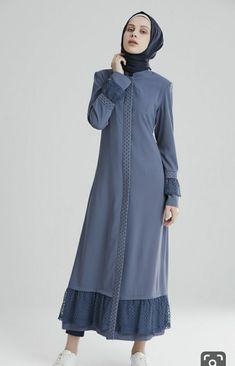 Abaya Fashion, Modest Fashion, Fashion Dresses, Modest Dresses, Simple Dresses, Modest Clothing, Moslem Fashion, Modele Hijab, Muslim Dress