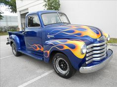 Damn! Chevy Stepside, Chevy Pickups, Chevy Trucks, Vintage Pickup Trucks, Classic Pickup Trucks, Car Tv Shows, Cool Trucks, My Ride, Custom Cars
