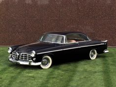 1955 Chrysler C-300.  The new era of muscle cars for the masses.  boasted a whopping 300 horsepower (more than double the Olds 88 of just six years before). This car became the new car to beat at NASCAR, grabbing records and wins with abandon.