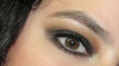intense black smokey eye tutorial step by step pictures