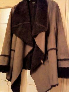 Fabulous Fur Lined Waterfall Suede Effect Jacket Size 20 Brown Fabulous Furs, Waterfall, Fur Coat, Clothes For Women, Brown, Winter, Jackets, Ebay, Fashion