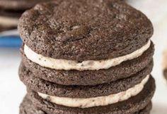 Receita de biscoito Oreo Fit