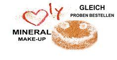 Proben von 100% Mineral Make-up von Bellapierre bei uns im Shop Bestellen:  www.armonia-cosmetics.de