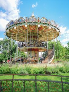 Carousel, Fair Grounds, Places, Carousels, Lugares