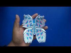 Origami 3D Mariposa - YouTube