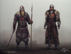 ArtStation - Vikings Concepts - Cinemotion & Universal, Miroslav Petrov