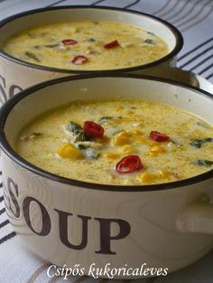 Soup Recipes, Cake Recipes, Cooking Recipes, Hungarian Recipes, Food 52, Soups And Stews, Chowder, Food Porn, Food And Drink