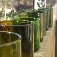 #Recycled #Glass #Bottles