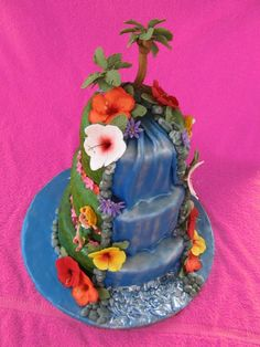 hawaii cake... ever eaten a waterfall? :) bigislandreale.com can show you a few sweet places for the happily ever after dream....