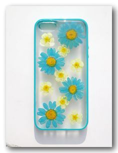 Handmade iPhone 5 case Resin with Real F lowers by Annysworkshop, $19.00